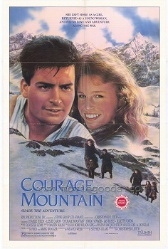 what is the leslie caron's character's name in courage mountain ?