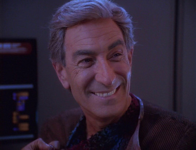 Who reprised his role as Arne Darvin in 'Trials and Tribble-ations'?