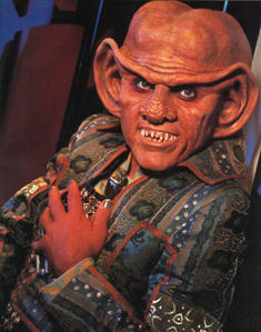 Which other fantasía TV series did Quark actor Armin Shimerman appear in?