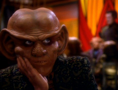In which episode is Quark suddenly named leader of the Ferengi financial empire?