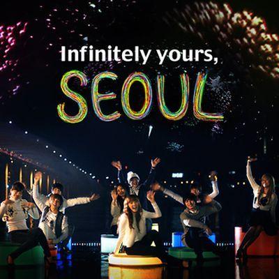 Who was Taeyeon's crush in Seoul
