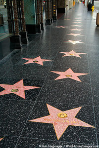 In what year did Nimoy recieve a star on the Hollywood Walk of Fame?