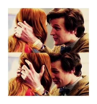 Doctor: Amy Pond the girl who didn't make any sense, how could i _____?