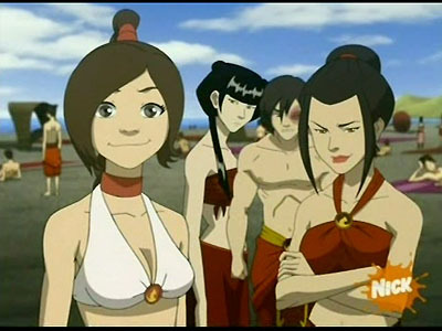 in the episode the beach why didn t azula tell chan and ruon jian