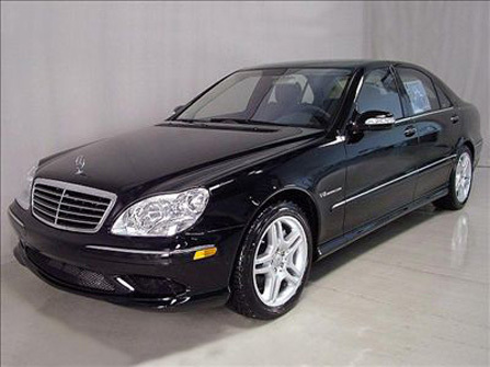 Which Cullen is the owner of this car (Mercedes S55)?