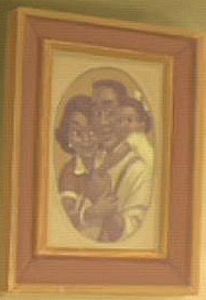 Where in The Princess and the Frog is this picture and frame from?