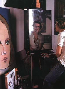 "Johnny Depp: ""What I love to do is paint people's faces, y'know, their ___."""