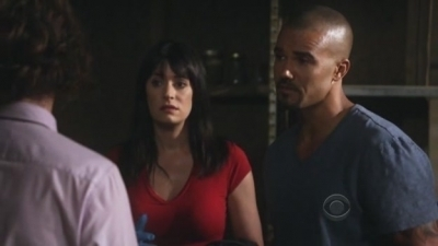 In 5x20 'A Thousand Words' Prentiss and Morgan talk Reid into doing what unpleasant job:
