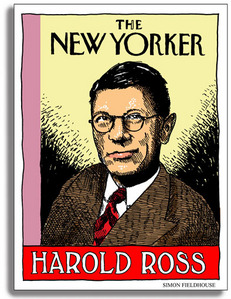 Harold Ross founded 'The New Yorker' in what year?