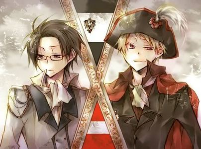 What's the name of the war between Austria-Prussia which has appeared in Hetalia manga?