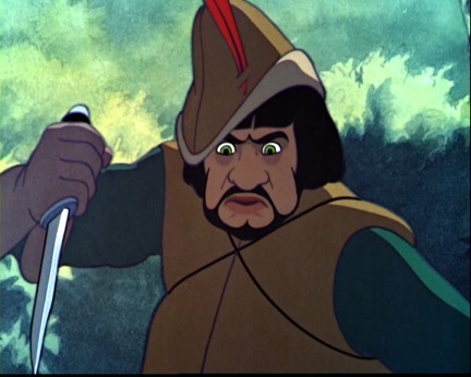 What's the name of hunter from Snow White and the Seven Dwarfs?