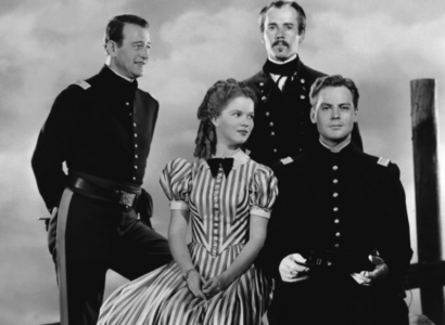 what is the name of shirley temple's character in fort apache(1948) ?
