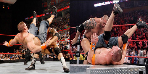 What is the name of Batista's finishing move in this picture ??