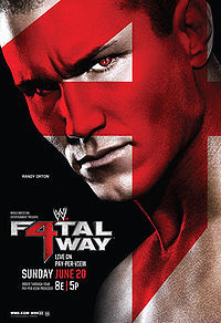"Who faced Chris Jericho at the PPV ""Fatal 4-Way"" in 2010?"