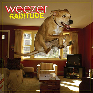 "True или False: Rainn did NOT come up with Weezers album name ""Raditude?"""