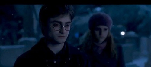 Is this a picture from the deathly hallows movie, part1/2 in 2010/11?