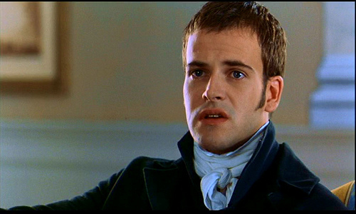Jonny Lee Miller, who plays Edmund Bertram in this version of Mansfield Park, played Fanny's young brother Charles Price in the 1983 BBC mini series