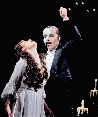 What age did Ramin play the Phantom in ALW&#39;s phantom of the opera?