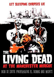 What causes the dead to rise in this 1974 zombie film ?