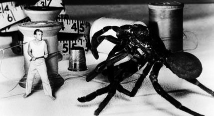 "In ""The Incredible Shrinking Man"" what is making him shrink ?"