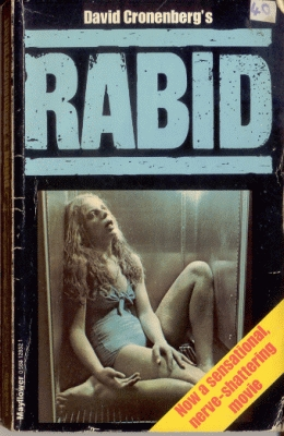Where on Rose (Marilyn Chambers) is the orifice in which she draws blood from her victims ?