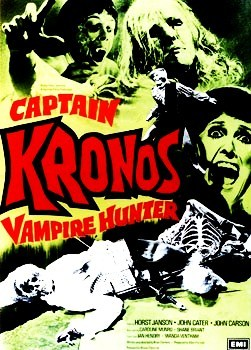 "In the cult classic ""Captian Kronos-Vampire Hunter""(1974) what type of sword does Kronos use ?"