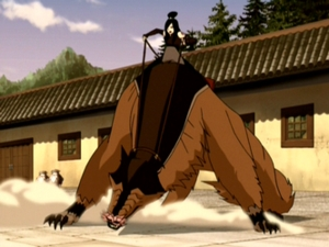 How many licks from a Shirshu does it take to take down a ten-ton flying bison?
