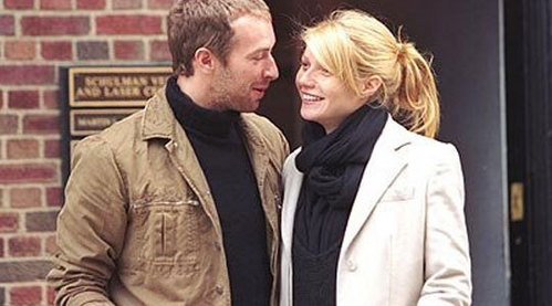 What taon did Chris Martin and Gwyneth Paltrow marry?