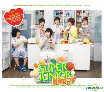 Who is the SNSD member that appeared in Super Junior Happy's MV, Cooking! Cooking!?