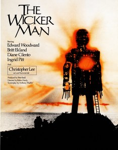 "In ""The Wicker Man"" (1973) what does a mother put in her daughters mouth ?"