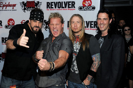 What does Chris Jericho do in his band Fozzy?