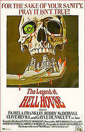 """In """"The Legend Of Hell House"""" (1973) what did Belasco consider too small so he opted for amputation ?"""