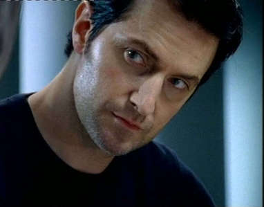 Before he played Lucas North on Spooks, he had a backround part in a earlier season, what was the name of that character?