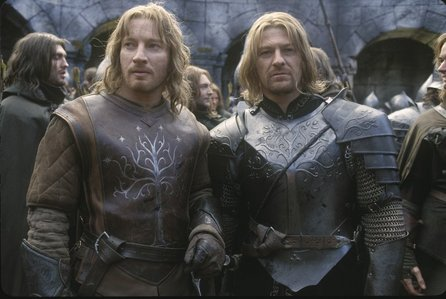 True or False: Boromir is 5 years older than Faramir?