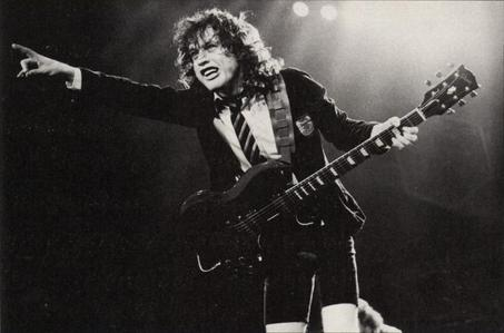 When is Angus Young's birthday?