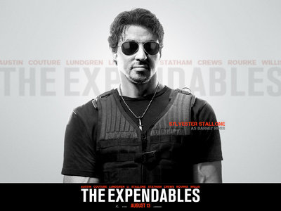 what is the name of slys character in his new movie the expendables