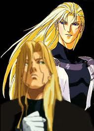 in ai no kusabi what was the name of the blondie that warned Iason he'd piss off jupiter by getting involved with riki?