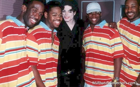 Who is in the picture with Michael?