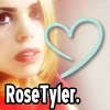 What was the first thing the Doctor sagte to Rose Tyler?