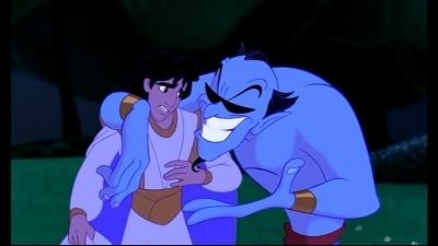 Who was Genie imitating here?