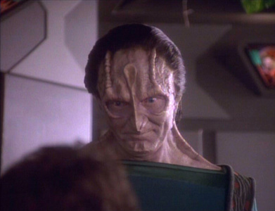 In what episode do we first meet Garak?