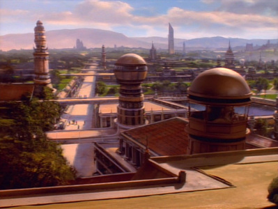 There are at least _____ planets in the Bajoran system.