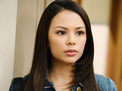 where is janel parrish (mona) born in ?
