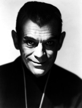 """In """"The Black Cat"""" (1934) what does Bela Lugosi tell Boris Karloff he's going to do to him ?"""