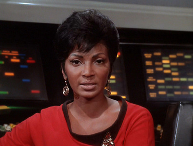 Which episode of TOS marks Uhura's last appearance?