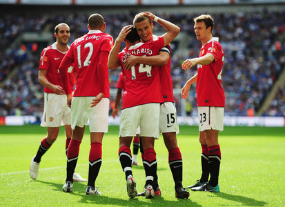 What was the score against Chelsea in the 2010 Community Shield?