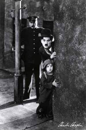 Charlie Chaplin's first full-length film, the 1921 classic 'The Kid', helped launch the career of which Hollywood child star?