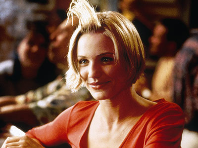 What sport does Diaz's character play in 'There's Something About Mary' (1998)?
