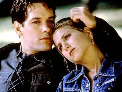 In this movie she took a homosexual man (Paul Rudd) into her home to live. She just happened to fall in love with him. Which movie was it?