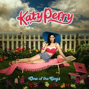 Where did her album 'One of the Boys' peak at on the US Billboard 200 chart?